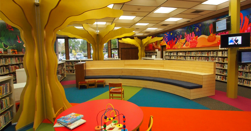 Caldwell Public Library Children's Area Remodel